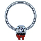Piercing anillo 1,6mm 120 - Funny zombie A