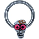 Piercing anillo 1,6mm 122 - Funny zombie C