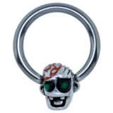 Piercing anillo 1,6mm 123 - Funny zombie D
