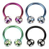 Piercing circular 08 - PVD tiffany