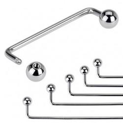 Piercing agrafe boules 90°