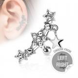 Piercing helix 126 - estrella