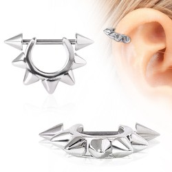 Piercing helix 138 - Spikes