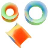 Túnel silicona flexible psicodélico