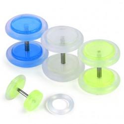 Falso-expender acrílico 15 - fluorescente