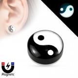 Faux-plug magnétique yin yang (6)