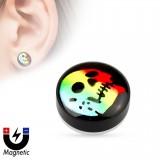 Faux-plug magnétique cráneo multicolor (10)