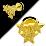 Falso-expender acero 174 - satén amarillo triple estrella A