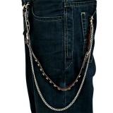Cadena de jean 03 - cuero y tornillo