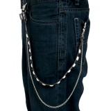 Cadena de jean 07 - blanco y negro