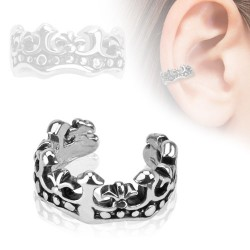 Falso-piercing oreja 58 - Anillo corona