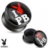 Plug acrílico desatornillado Playboy