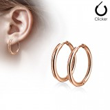 Boucles Pendiente criollas 76 - Gold-ip rosa B