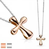 Collier en acero 02 - cruz