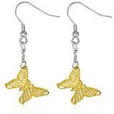 Crochet de acero 36 - Gold ip mariposa