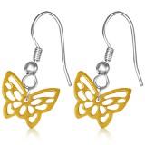 Crochet de acero 77 - Gold ip mariposa