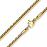 cadena acero 64 - Gold-ip enlaces 03mm
