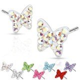 Pendientes Ferido 03 - mariposa