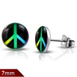clavos logos 02 - Peace and love