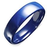 Anillo céramique 06 - sencillo azule