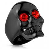 Anillo gótico 35 - Black-line ojo rojo