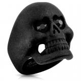 Anillo gótico 36 - satén negro
