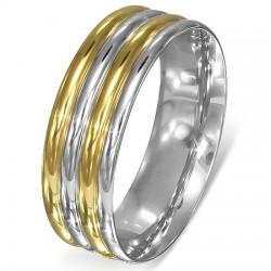 Anillo gold-ip 16 - cuatro líneas arrondaies