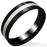 Anillo PVD 03 - Grise y negro