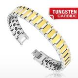 Pulsera en tungsteno 04 - Gold-IP