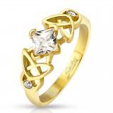 Anillo zircona gold-ip cuadrada motivos celta (14)