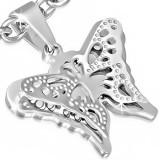 Colgante animal 22 - mariposa lujo