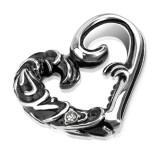 Colgante corazón gótico (78)