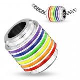 Colgante anillo 01 - Gay pride