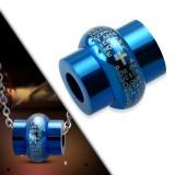 Colgante anillo 09 - azul latin