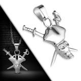 colgante gótico 20 - pirata con sabres