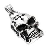 colgante gótico 42 - cráneo