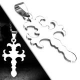 Colgante cruz 026 - medieval sencillo