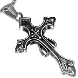 Colgante cruz 071 - medieval