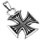 Colgante cruz 139 - cruz maltesa