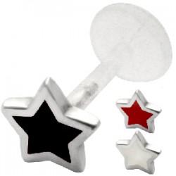 Piercing micro-labret PTFE 29 - estrella