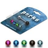 Pack de piercings lenguas 07 - Bolas PVD