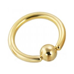Piercing anillo 1,6mm 02 - chapado-oro