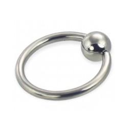 Piercing anillo 1,6mm 04 - acero