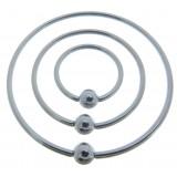 Piercing anillo 1,6mm 20 - Super size