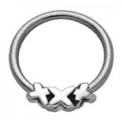Piercing anillo 1,6mm 39 - XXX