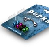 Pack de piercings arcades 03 - Bolas PVD