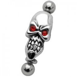 Piercing ceja micro-barbell 36 - gótico