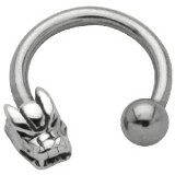Piercing micro-circular 38 - Dragon