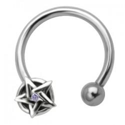 Piercing micro-circular 46 - estrella