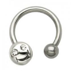 Piercing micro-circular 47 - Smiley